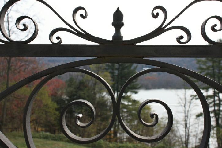 Balcony Railing, Great House (1829 - 1834)