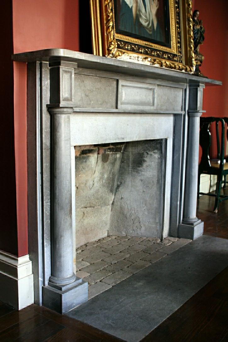 (ARC7) Chapel Mantel (3) (Bennington Marble - Abraham Labagh - 1819)