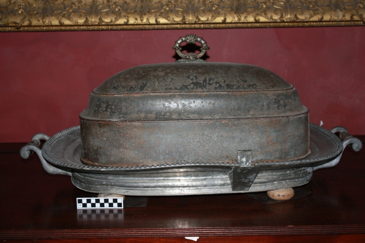 Venison warming platter