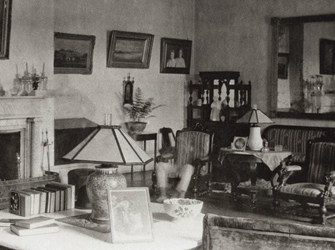 ghostly drawing room