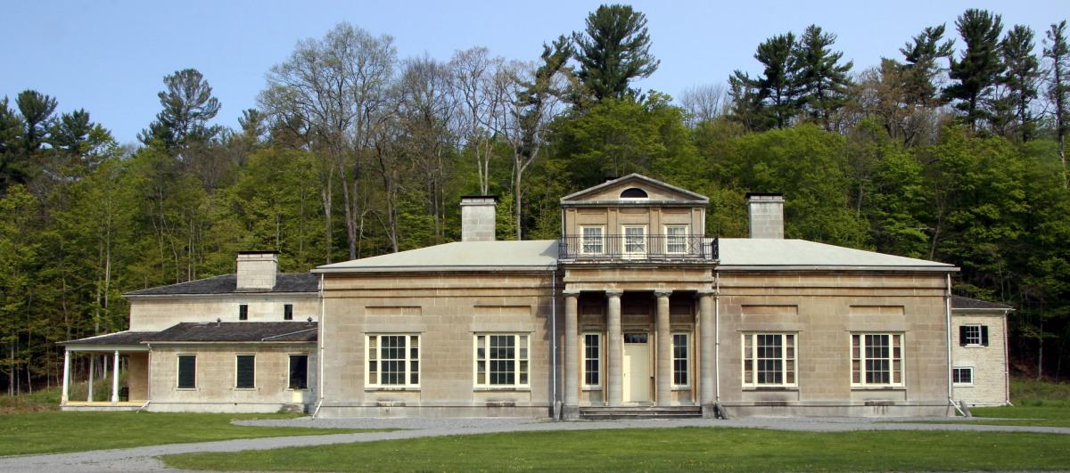 Mansion East Elevation_Gravel