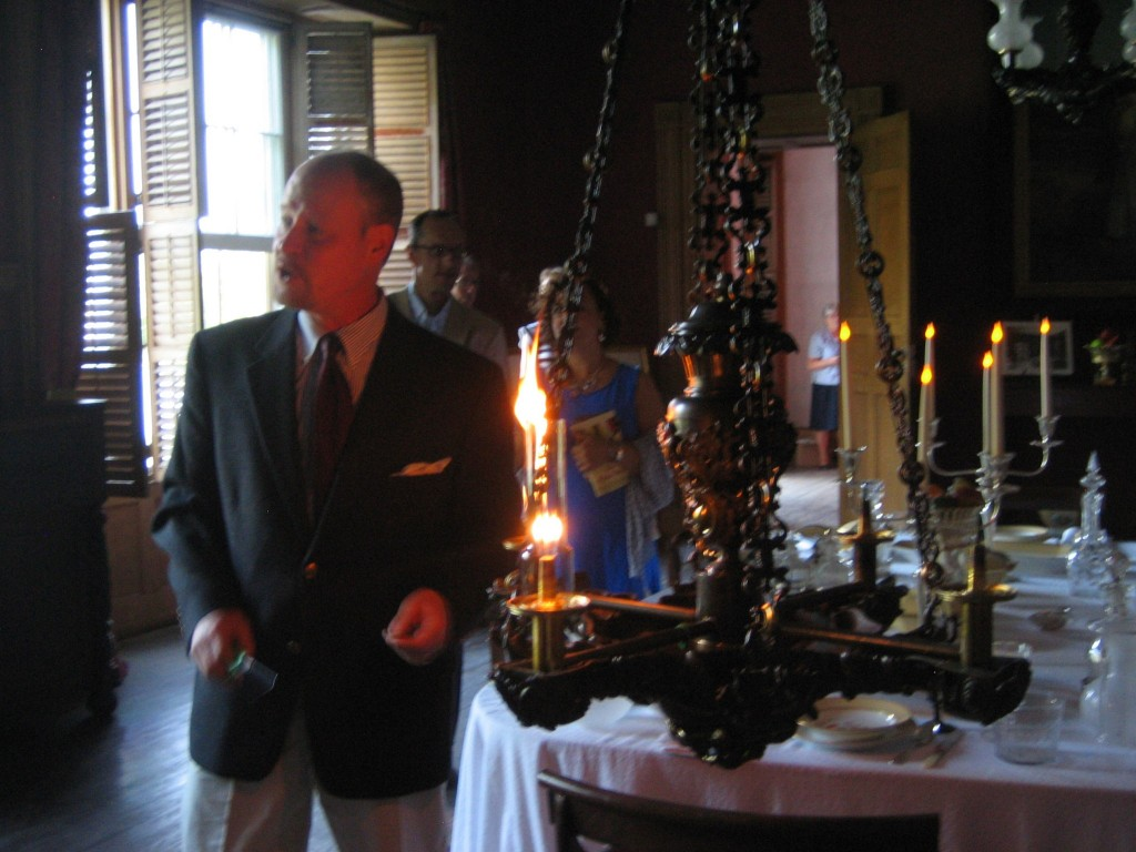 Jon-explains-the-chandeliers