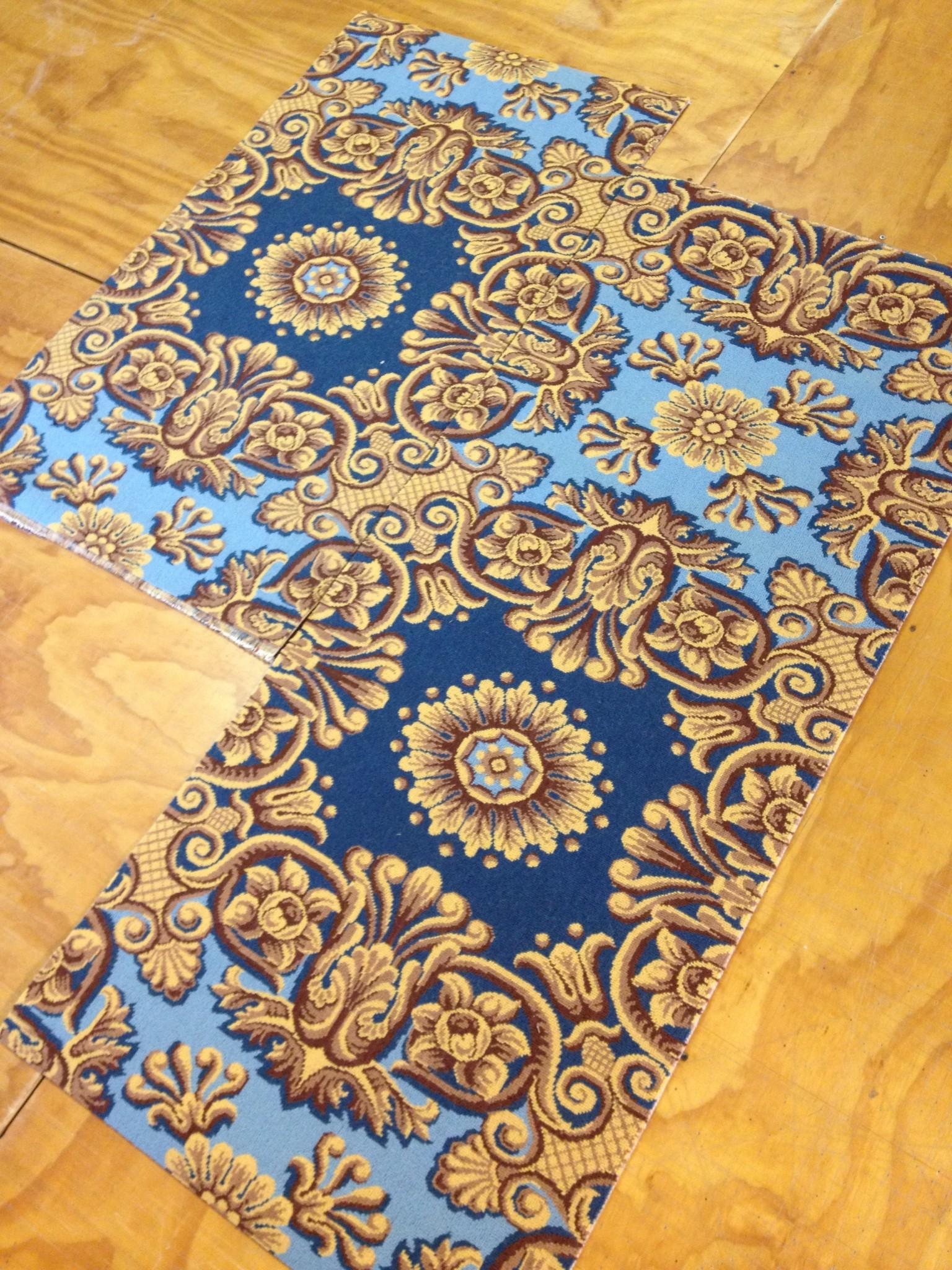 carpet laid out
