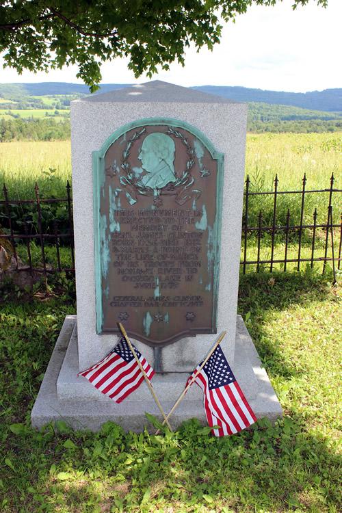 Gen Clinton Monument Rt 20 & Contintenal Rd 1-sm