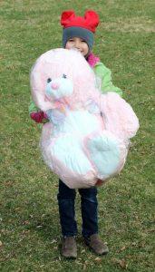 Mackenzie McGovern of Cherry Valley - Winner of Bunny for finding Golden Egg