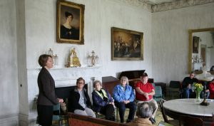 Jill Maney showcases New Carpets at Hyde Hall.
