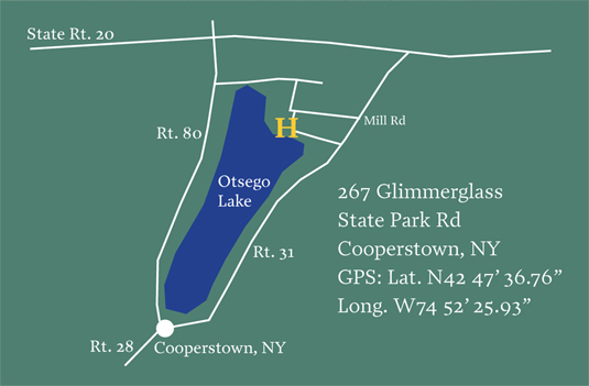 Hours & Directions | Hyde Hall - Cooperstown, NY on cherry valley ny map, central square ny map, orange county ny map, schuyler lake ny map, cortland ny map, gallupville ny map, washington ny map, cooperstown new york, upper saranac lake ny map, cooperstown google maps, thousand islands ny map, stanton ny map, st johnsville ny map, town of corning ny map, ft totten ny map, cooperstown winter carnival 2014, coeymans ny map, canadarago lake ny map, lake placid ny on map, alder creek ny map,