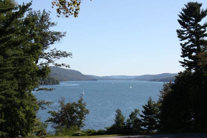 Hyde Hall View of Cooperstown, New York and Lake Otsego