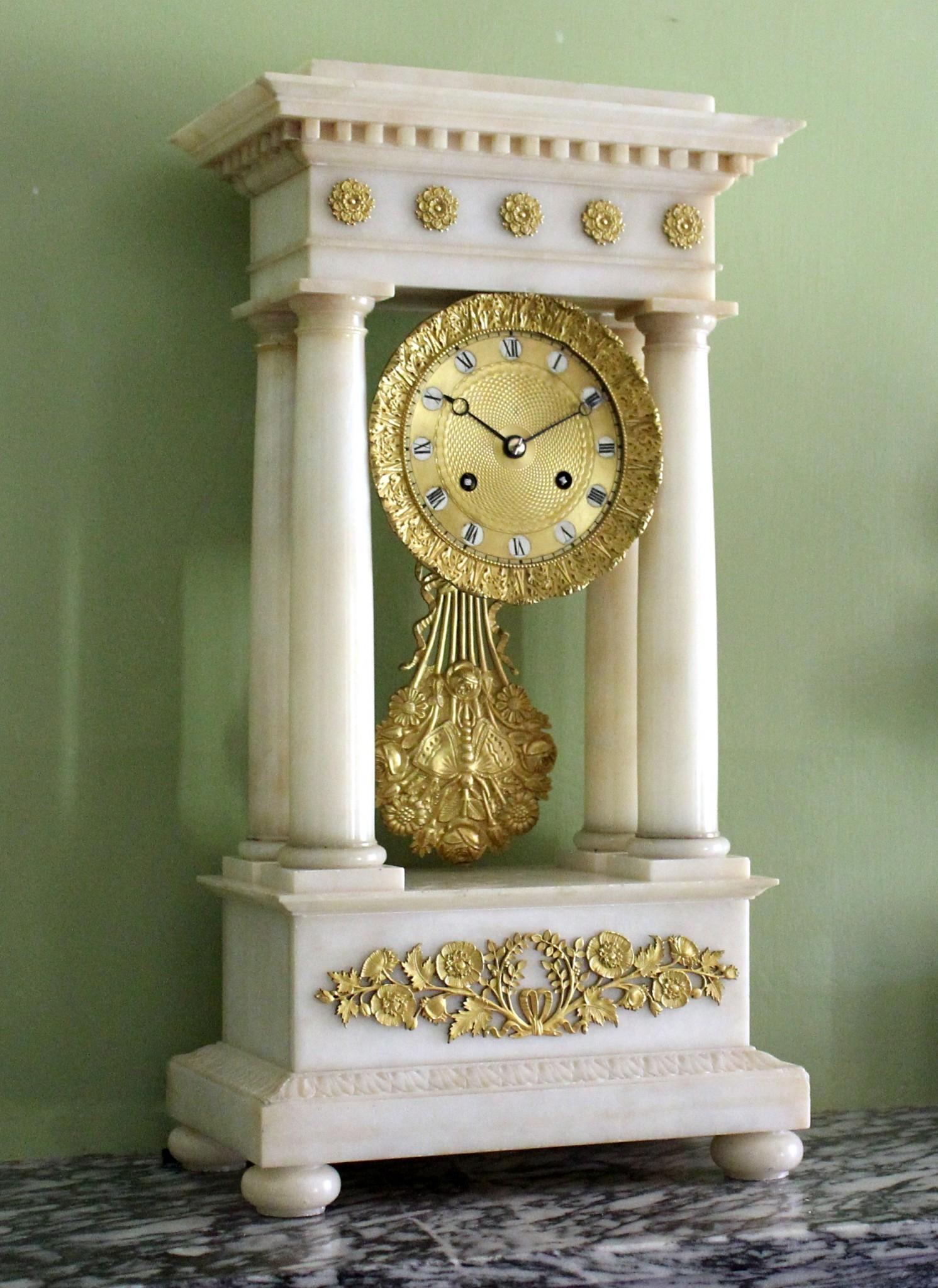 Alabaster Clock 2