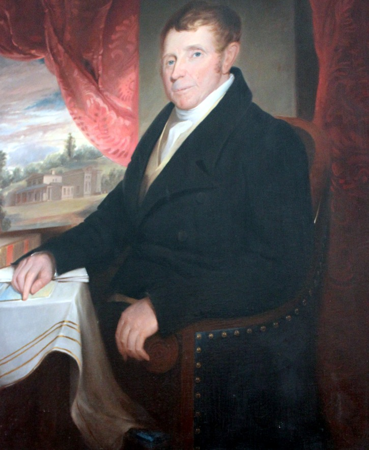 Samuel Morse portrait of George Clarke