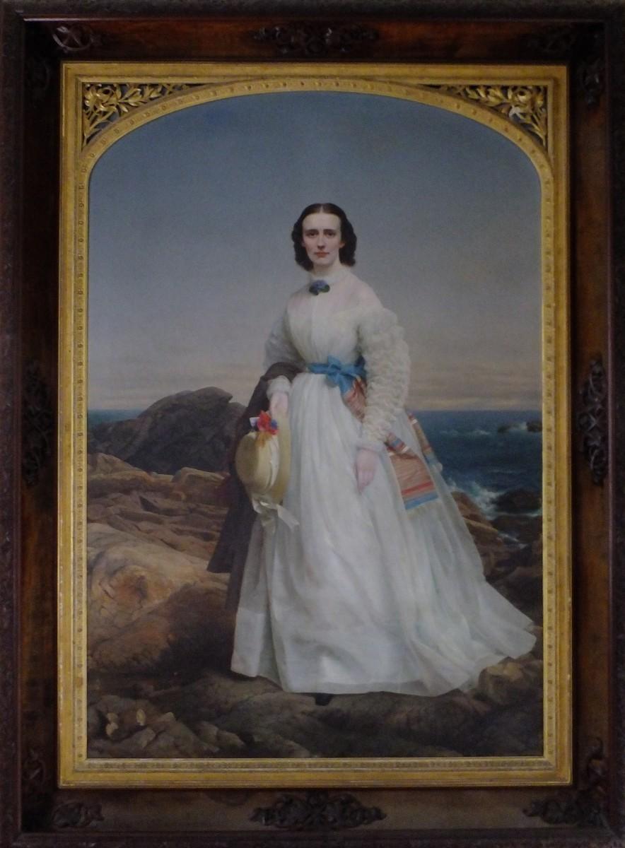 Portrait of Jane Storrs Cooper Worthington
