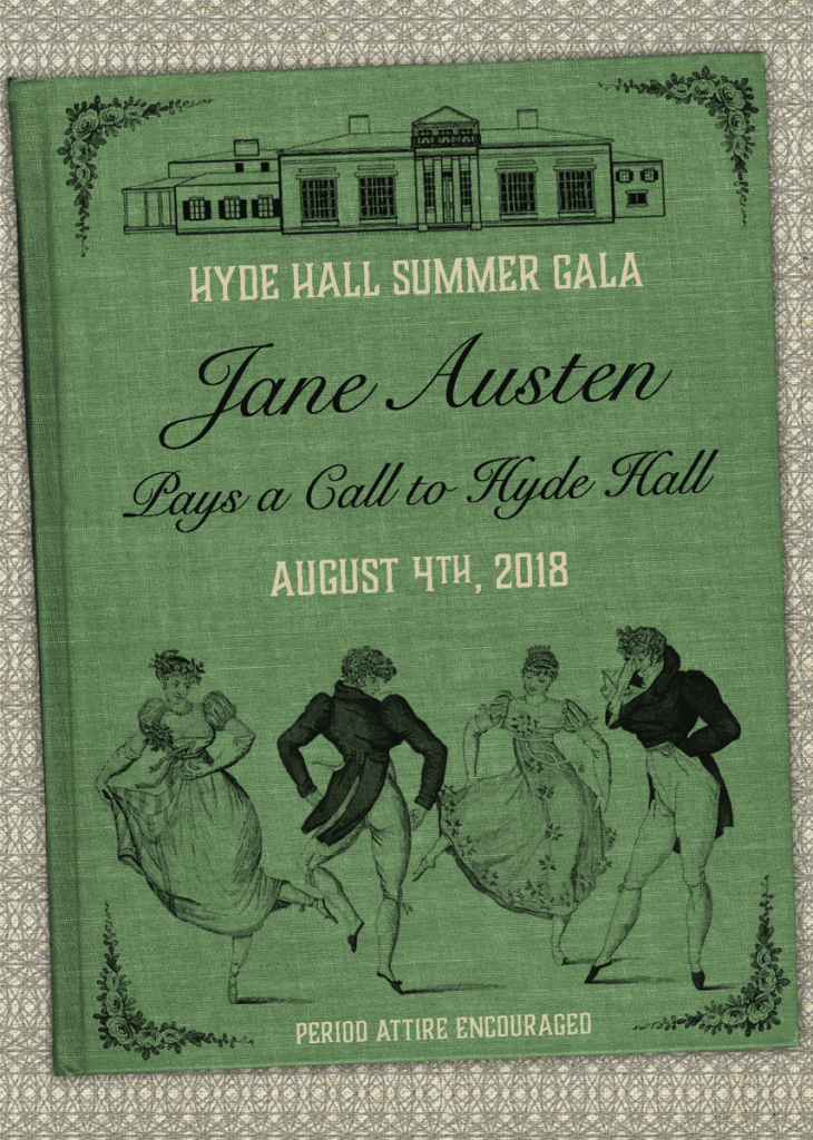 Save the Date - Jane Austen Pays a Call to Hyde Hall