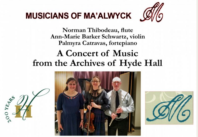 Concert: The Musicians of Ma'alwyck
