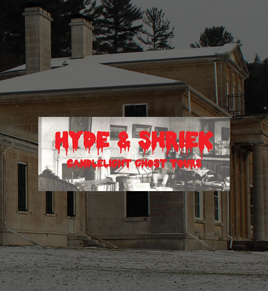 Hyde & Shriek! 2018 Candlelight Ghost Tours